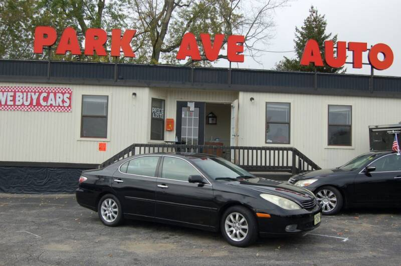2003 Lexus ES 300 for sale at Park Ave Auto Inc. in Worcester MA