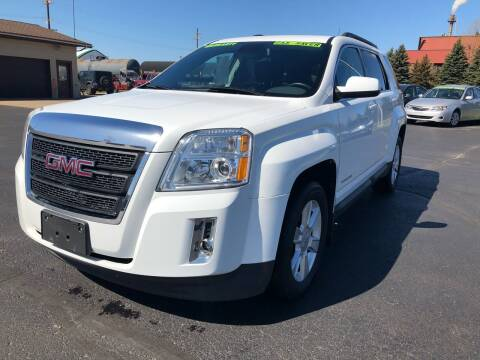2012 GMC Terrain for sale at Mike's Budget Auto Sales in Cadillac MI