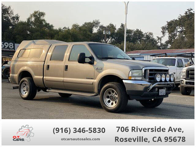 2003 Ford F-250 Super Duty for sale at OT CARS AUTO SALES in Roseville CA