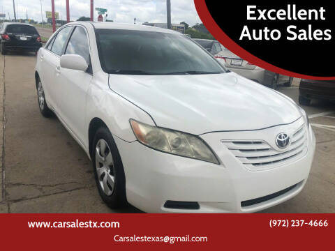 2007 Toyota Camry for sale at Excellent Auto Sales in Grand Prairie TX