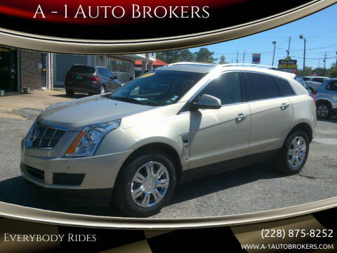 2011 Cadillac SRX for sale at A - 1 Auto Brokers in Ocean Springs MS