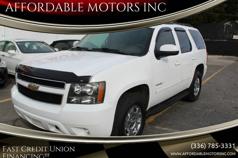 2010 Chevrolet Tahoe for sale at AFFORDABLE MOTORS INC in Winston Salem NC