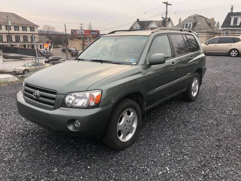 2007 Toyota Highlander for sale at Butler Auto in Easton PA