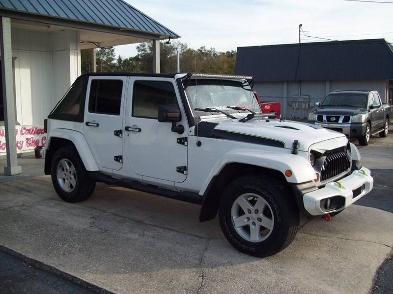 2010 Jeep Wrangler Unlimited for sale at LONGSTREET AUTO in St Augustine FL