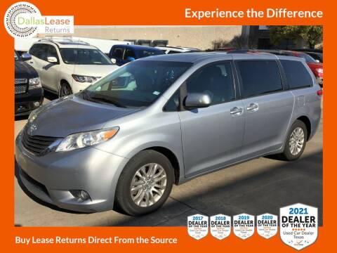 2013 Toyota Sienna for sale at Dallas Auto Finance in Dallas TX