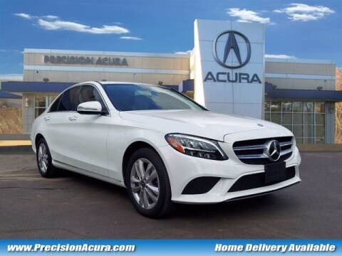 2019 Mercedes-Benz C-Class for sale at Precision Acura of Princeton in Lawrence Township NJ