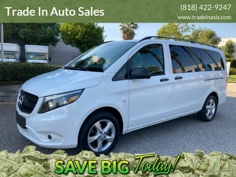 2016 Mercedes-Benz Metris for sale at Trade In Auto Sales in Van Nuys CA
