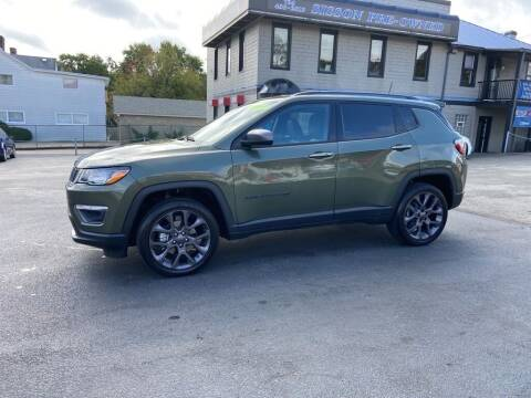 2021 Jeep Compass for sale at Sisson Pre-Owned in Uniontown PA