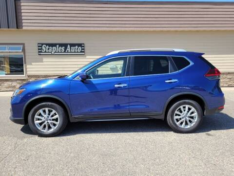 2019 Nissan Rogue for sale at STAPLES AUTO SALES in Staples MN