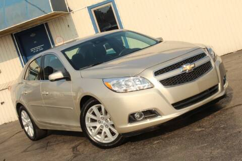 2013 Chevrolet Malibu for sale at Dynamics Auto Sale in Highland IN