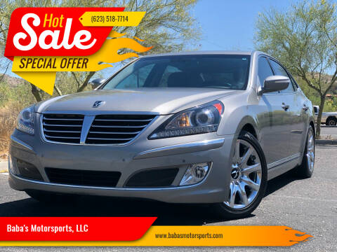 2012 Hyundai Equus for sale at Baba's Motorsports, LLC in Phoenix AZ