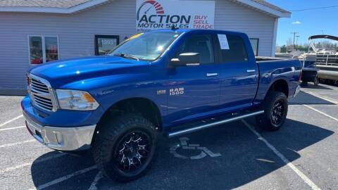 2018 RAM Ram Pickup 1500 for sale at Action Motor Sales in Gaylord MI