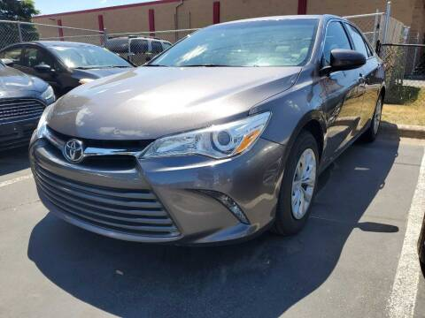 2015 Toyota Camry for sale at MIDWEST CAR SEARCH in Fridley MN
