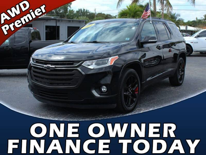 2019 Chevrolet Traverse for sale at Palm Beach Auto Wholesale in Lake Park FL