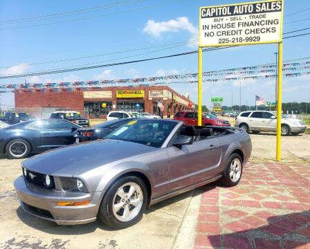 2007 Ford Mustang for sale at CAPITOL AUTO SALES LLC in Baton Rouge LA