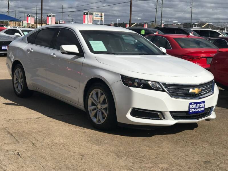 2016 Chevrolet Impala for sale at Discount Auto Company in Houston TX