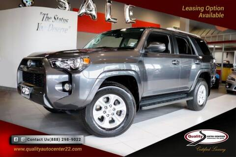 2018 Toyota 4Runner for sale at Quality Auto Center in Springfield NJ