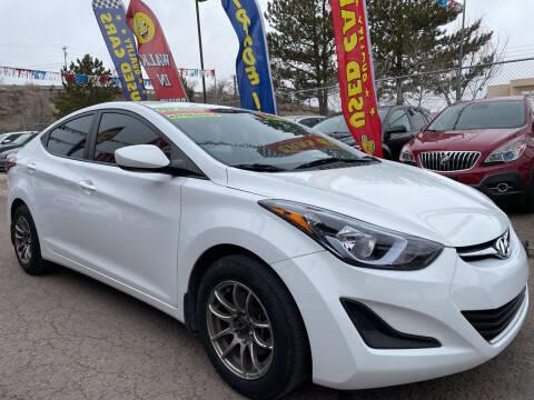 2016 Hyundai Elantra for sale at Duke City Auto LLC in Gallup NM