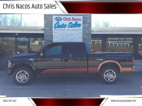 2008 Ford F-250 Super Duty for sale at Chris Nacos Auto Sales in Derry NH
