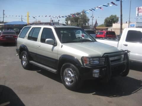 1998 Infiniti QX4 for sale at Town and Country Motors - 1702 East Van Buren Street in Phoenix AZ