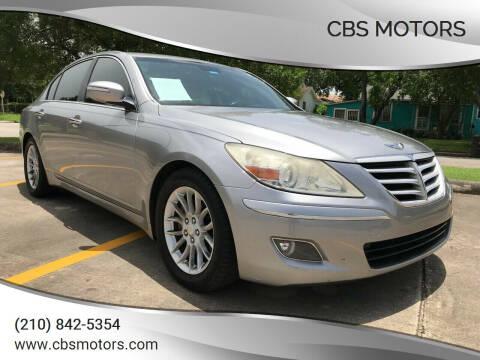 2009 Hyundai Genesis for sale at CBS MOTORS in San Antonio TX