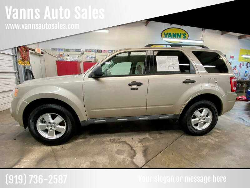 2010 Ford Escape for sale at Vanns Auto Sales in Goldsboro NC
