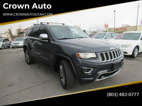 2014 Jeep Grand Cherokee for sale at Crown Auto in South Salt Lake City UT