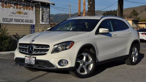 2018 Mercedes-Benz GLA for sale at AMC Auto Sales, Inc. in Fremont CA