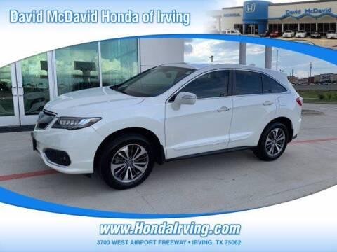2017 Acura RDX for sale at DAVID McDAVID HONDA OF IRVING in Irving TX