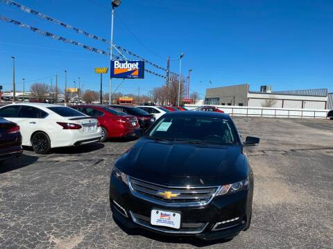 2018 Chevrolet Impala for sale at BUDGET CAR SALES in Amarillo TX