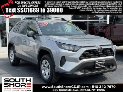 2020 Toyota RAV4 for sale at South Shore Chrysler Dodge Jeep Ram in Inwood NY