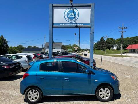 2017 Mitsubishi Mirage for sale at Corry Pre Owned Auto Sales in Corry PA