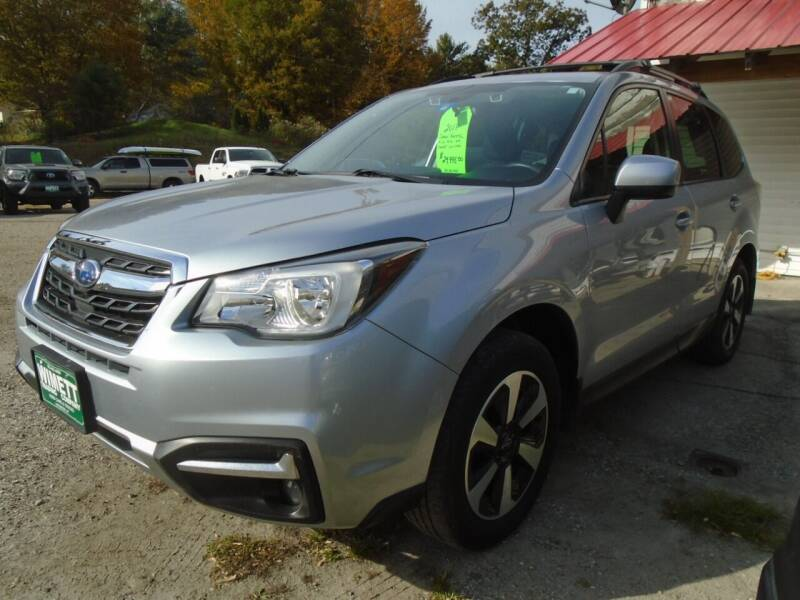 2018 Subaru Forester for sale at Wimett Trading Company in Leicester VT