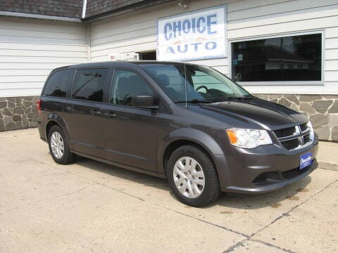 2018 Dodge Grand Caravan for sale at Choice Auto in Carroll IA