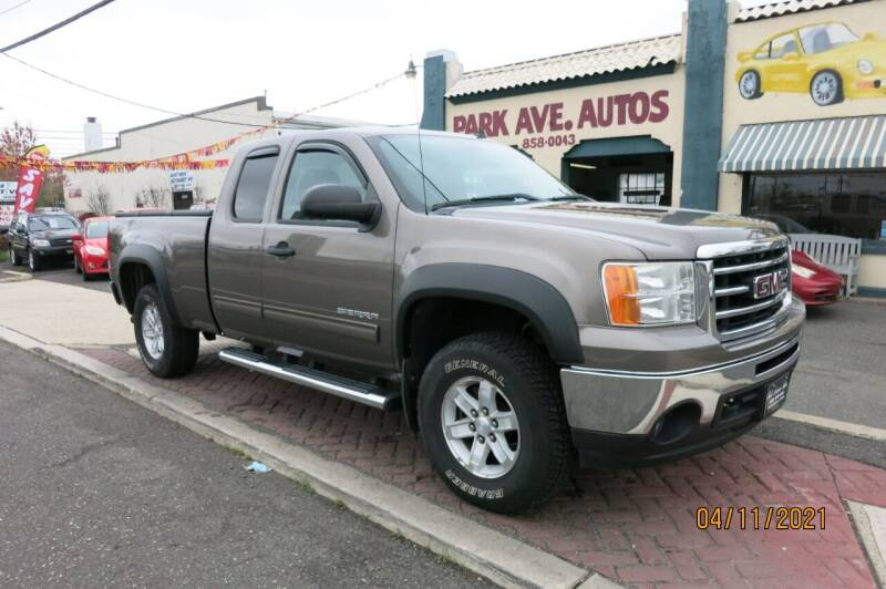 2012 GMC Sierra 1500 for sale at PARK AVENUE AUTOS in Collingswood NJ