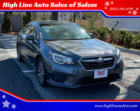 2018 Subaru Legacy for sale at High Line Auto Sales of Salem in Salem NH