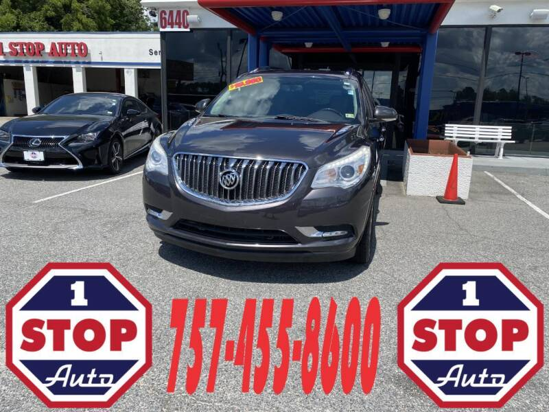 2015 Buick Enclave for sale at 1 Stop Auto in Norfolk VA