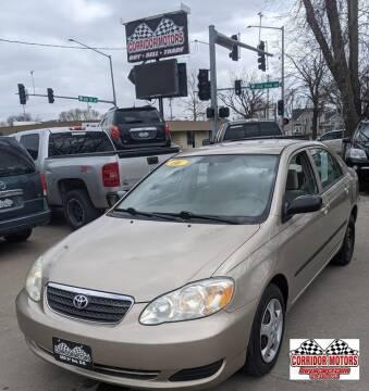 2006 Toyota Corolla for sale at Corridor Motors in Cedar Rapids IA