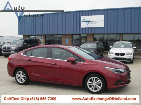 2017 Chevrolet Cruze for sale at Auto Exchange Of Holland in Holland MI