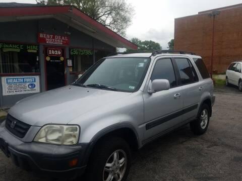2000 Honda CR-V for sale at Best Deal Motors in Saint Charles MO