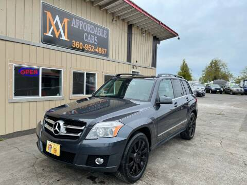 2012 Mercedes-Benz GLK for sale at M & A Affordable Cars in Vancouver WA