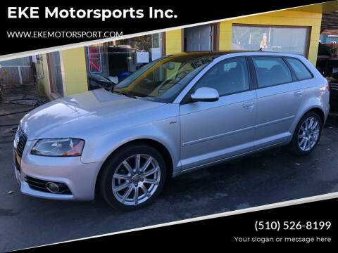 2012 Audi A3 for sale at EKE Motorsports Inc. in El Cerrito CA