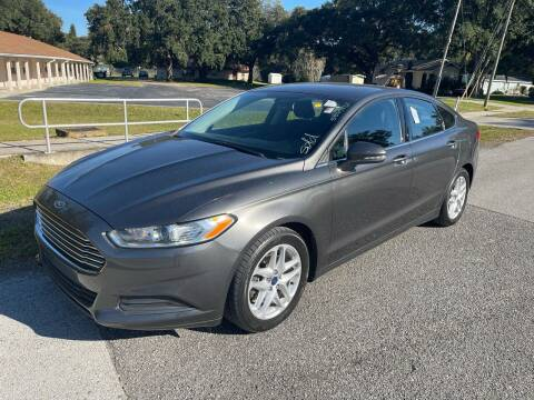 2016 Ford Fusion for sale at P J Auto Trading Inc in Orlando FL