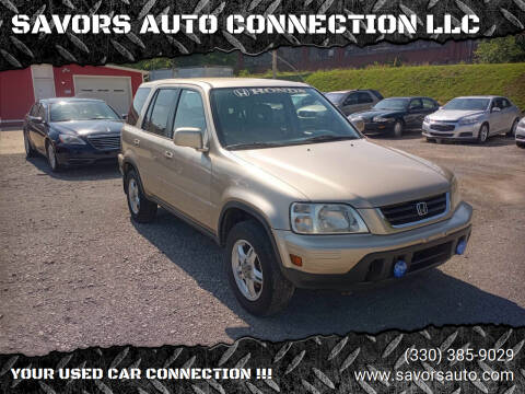 2001 Honda CR-V for sale at SAVORS AUTO CONNECTION LLC in East Liverpool OH