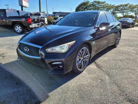 2016 Infiniti Q50 for sale at International Auto Wholesalers in Virginia Beach VA