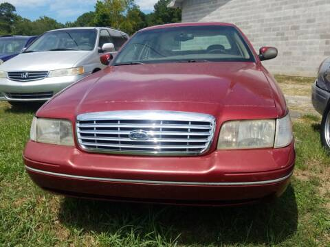 2001 Ford Crown Victoria for sale at Arkansas Wholesale Auto Sales in Hot Springs AR