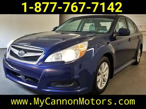 2010 Subaru Legacy for sale at Cannon Motors in Silverdale PA