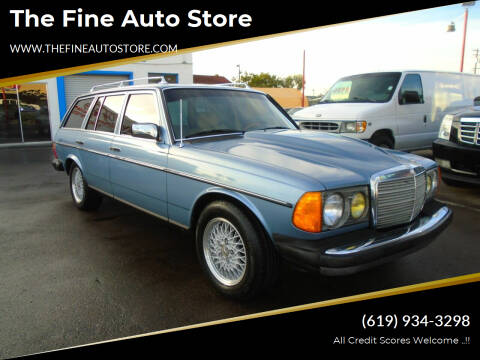 1985 Mercedes-Benz 300-Class for sale at The Fine Auto Store in Imperial Beach CA