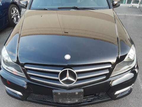 2014 Mercedes-Benz C-Class for sale at M & M Auto Brokers in Chantilly VA