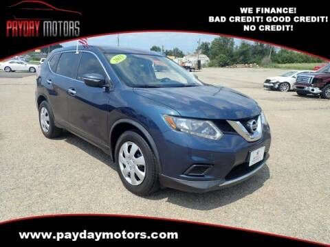2015 Nissan Rogue for sale at Payday Motors in Wichita KS
